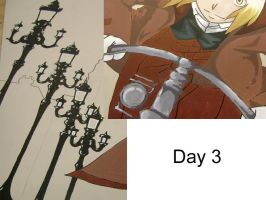 FMA Mural: Day 3 by AbbyChan