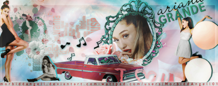 Signature - Ariana Grande by MorbiddAngell