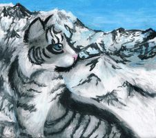 Mountain Cat by Octobertiger