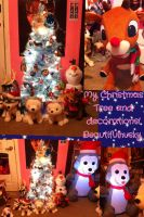 My Christmas Tree and decorations! by BeautifulHusky