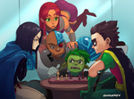 Teen Titans by Chilimanic