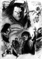 LORD OF THE RINGS: RETURN OF T by D3iv