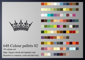 648 Colour Pallet 02 by Tigers-stock