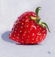 strawberry heart by classina