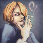 Sanji by mareefletcher