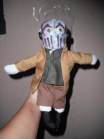 Mushroomhead plushie- Stitch by thedollmaker