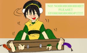 Toph tickle tortured by Metarix777 by neverb4