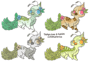 :Leafypeas adoptables(closed) by PrePAWSterous