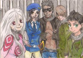 deadman wonderland by SuperBluePanda
