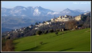 CASTELPLANIO (AN) - SPRING IS COMING by MarcoLorenzetti