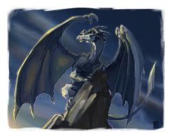 Hope's Dragon by Draixe