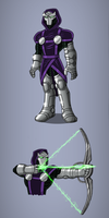 Dr Doom/Hawkeye Amalgam by payno0
