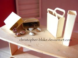 Mini Cookie Bags by TheMiniatureBazaar