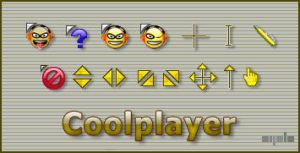Coolplayer cursor by apbaron
