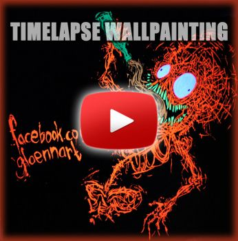 timelapse wallpainting video preview by GLoeNn