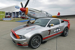 Ford Mustang GT Red Tail Special 2013 by ulperes
