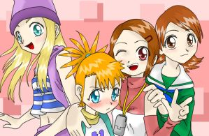 tamer all girls coloured by Riza23