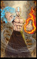 My Sketch Blog: AANG AVATAR by johnbecaro