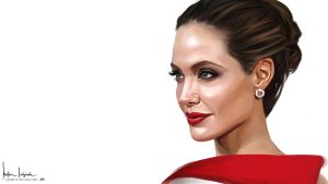 Angelina Jolie wallpaper by sahabiha
