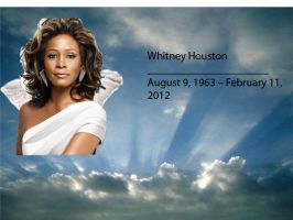 So long Whitney Houston by BlueRosePetalsQueen