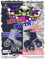 North Vs South game COLOR by rawjawbone
