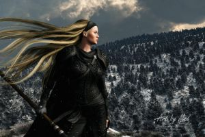 The Cold North Wind by MCKrauss