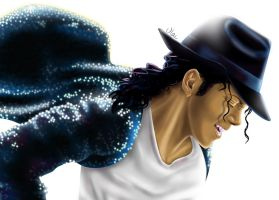 Michael Jackson's portrait by VLAC