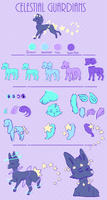 Celestial guardian Species Sheet by Sno-berry