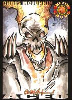 Ghost Rider ACEO by ChrisMcJunkin