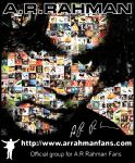 The A.R.Rahman Fans T Shirt by amithchandhran