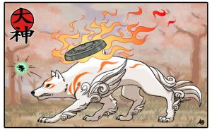 Okami by shadowstheater