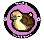 Baby Turtle duck icon by CuriouslyXinlove