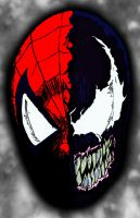 Spiderman-Venom by pascal-verhoef
