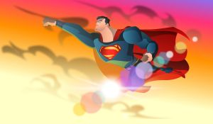 MAN OF STEEL VECTOR by cheetor182