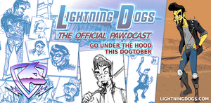 Lightning Dogs Paw'dcast Preview: Halloween Jack by lightningdogs