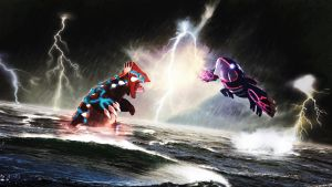 Groudon Vs Kyogre Re-mastered by Rieaun
