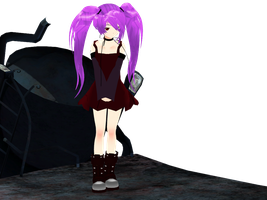 :MMD: Kage by PuniPudding