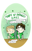 happy St patricks day by SherlockShiverNShake