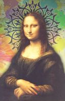 Time Pass with Mona Lisa In Adobe Photoshop. by zohaibusman