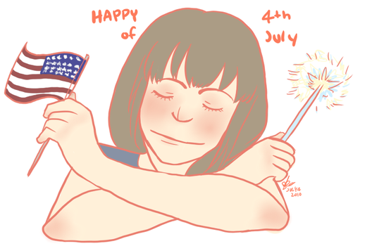 Happy Fourth of July by AntagonizingThistle