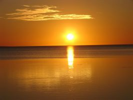 Florida Sunset @ Clearwater Beach by gjheitz