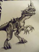 WoW Raptor by artfullycreative