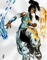 Korra - Avatar: Legend of Korra by DancingSoldier
