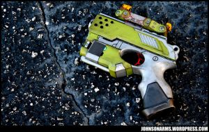 Borderlands 2 Themed Nerf Scout by JohnsonArms