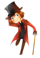 Willi wonka~simple chibi by KeitoHeavenn