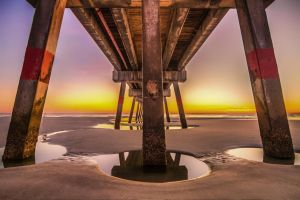 Jax Beach Pier 3 by 904PhotoPhactory