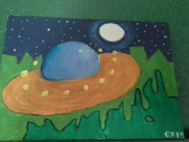 Space Yolk in Slime World by Fouxed