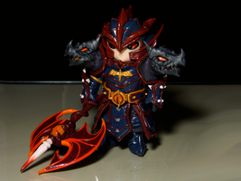 Laika - Fire Dragon Knight (Commission) by maga-01