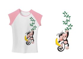 Hanging Monkey Shirt by amdillon