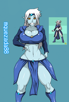 OC REQ: Marilyn the Elf For Mquezada88 by 5ifty
